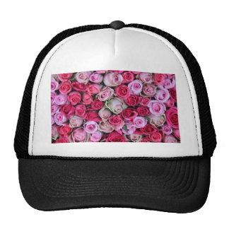 Rosas rosados mezclados por Therosegarden Gorras De Camionero