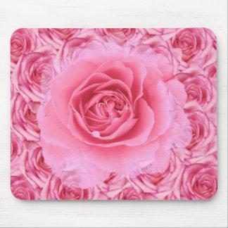 Rosas rosados Mousepad