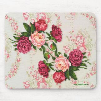 Rosas rosados Mousepad Alfombrilla De Ratones