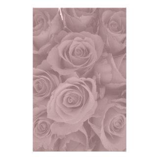 rosas rosados papelería de diseño