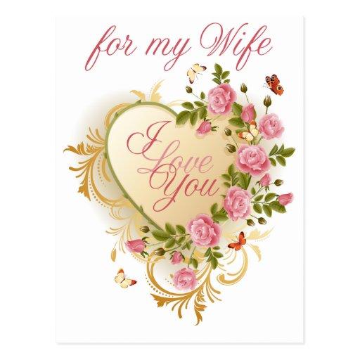 Rosas rosados para la postal de la tarjeta del día