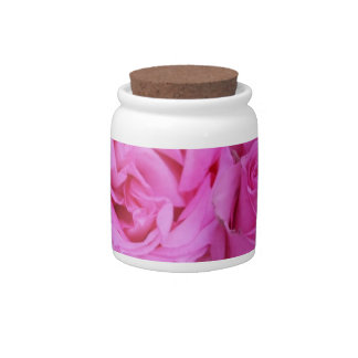 Rosas rosados por Therosegarden Jarra Para Caramelo
