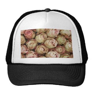 Rosas rosados por Therosegarden Gorras De Camionero