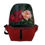Rosas rosados rojos coralinos 1 bolsa de mensajeria