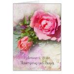 Rosas rosados románticos, rezo de Chrisitan Tarjeton
