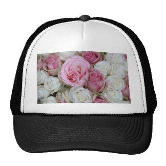 rosas rosados y blancos por Therosegarden Gorro De Camionero