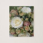 rosas rosados y blancos puzzles con fotos