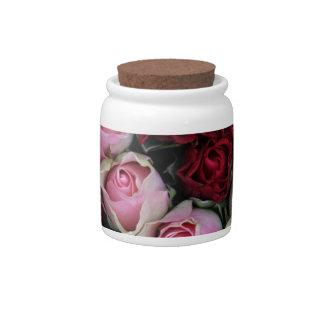 rosas rosados y rojos por Therosegarden Platos Para Caramelos