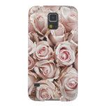 rosas rosas claros por todo la adoración del carcasa de galaxy s5