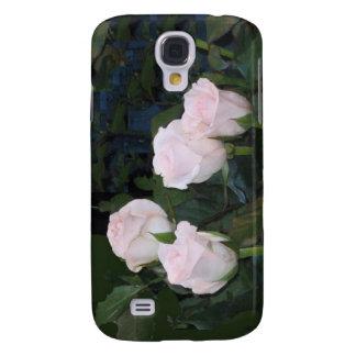 Rosas rosas claros samsung galaxy s4 cover