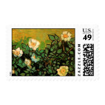 Rosas salvajes de Van Gogh (F597) Franqueo