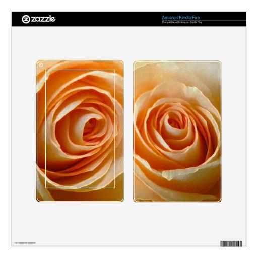 Rosas Skin Para Kindle Fire