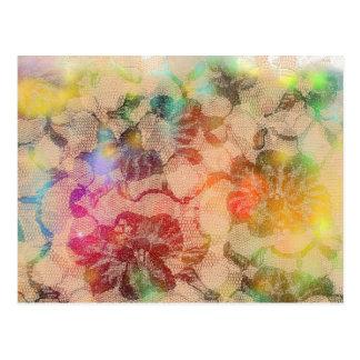 Rosas soleados del cordón postal