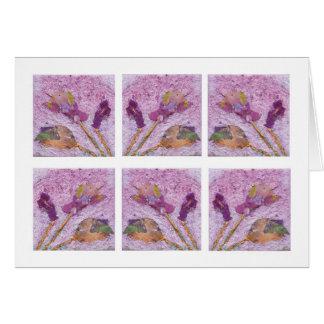Rosas susurrados… tarjeta pequeña