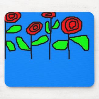 Rosas Tapete De Ratones