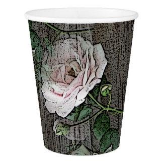 Rosas Vaso De Papel