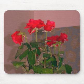 Rosas, Venecia - rojo Mouse Pads
