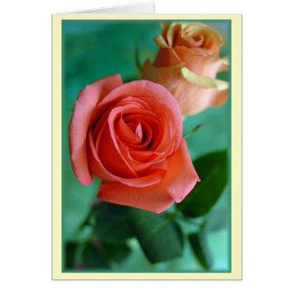 """Rosas Verticales"" Card"