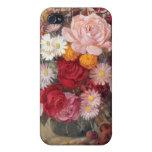 Rosas y caso de las margaritas iPhone4 iPhone 4/4S Carcasa
