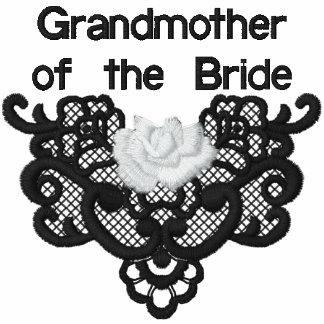 Rosas y cordón - abuela de la novia
