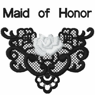 Rosas y cordón - criada del honor