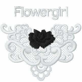 Rosas y cordón - Flowergirl