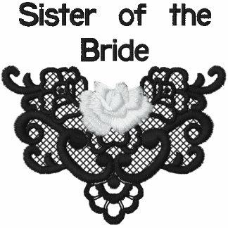 Rosas y cordón - hermana de la novia