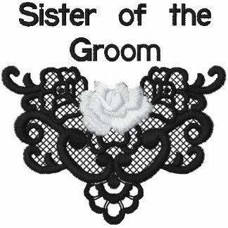 Rosas y cordón - hermana del novio