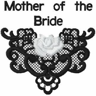 Rosas y cordón - madre de la novia