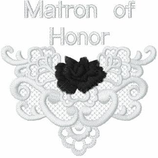 Rosas y cordón - matrona del honor