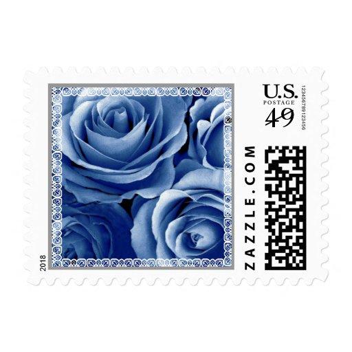 Rosas y cordón RANCIOS del sello del AMOR del boda
