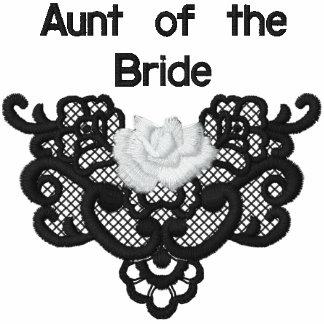 Rosas y cordón - tía de la novia