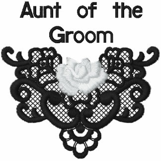 Rosas y cordón - tía del novio