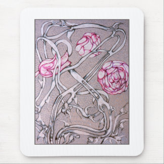 Rosas y espinas tapetes de raton