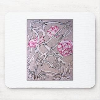 Rosas y espinas alfombrillas de ratones