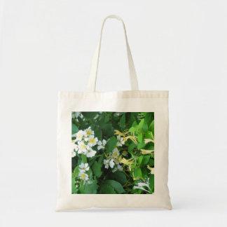 Rosas y madreselva bolsa