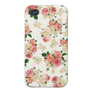 Rosas y magnolias iPhone 4 fundas