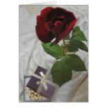 Rosas y perlas 2 felicitación