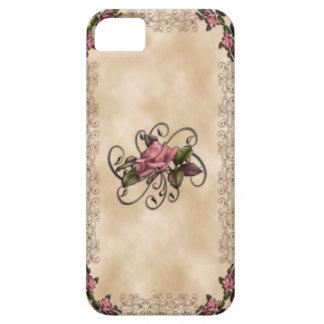 Rosas y remolinos iPhone4 iPhone 5 Carcasas