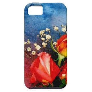 Rosas y respiración del bebé iPhone 5 cárcasas