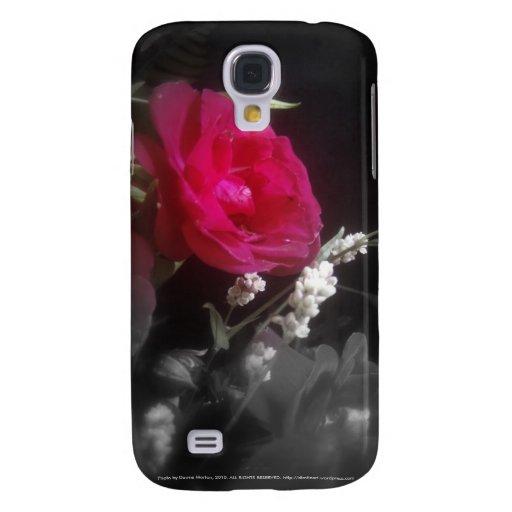 rosas y wildflowers 6 funda para galaxy s4