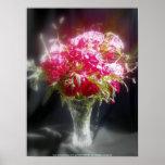 rosas y wildflowers posters