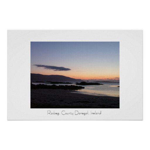 Rosbeg, County Donegal, Ireland Print