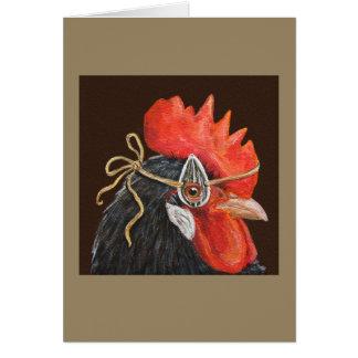Roscoe la tarjeta del gallo