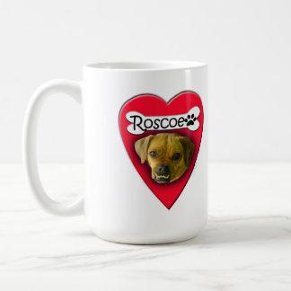 Roscoe Loves You Too Classic White Coffee Mug