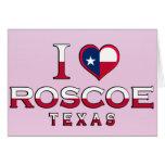 Roscoe, Texas Greeting Card