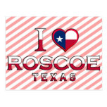 Roscoe, Texas Postcard