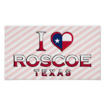 Roscoe, Texas Print