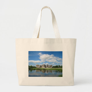 Roscommon Castle Jumbo Tote Bag