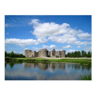 Roscommon Castle Postcard